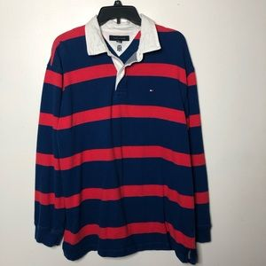 Tommy Hilfiger Polo rugby long sleeve shirt XL